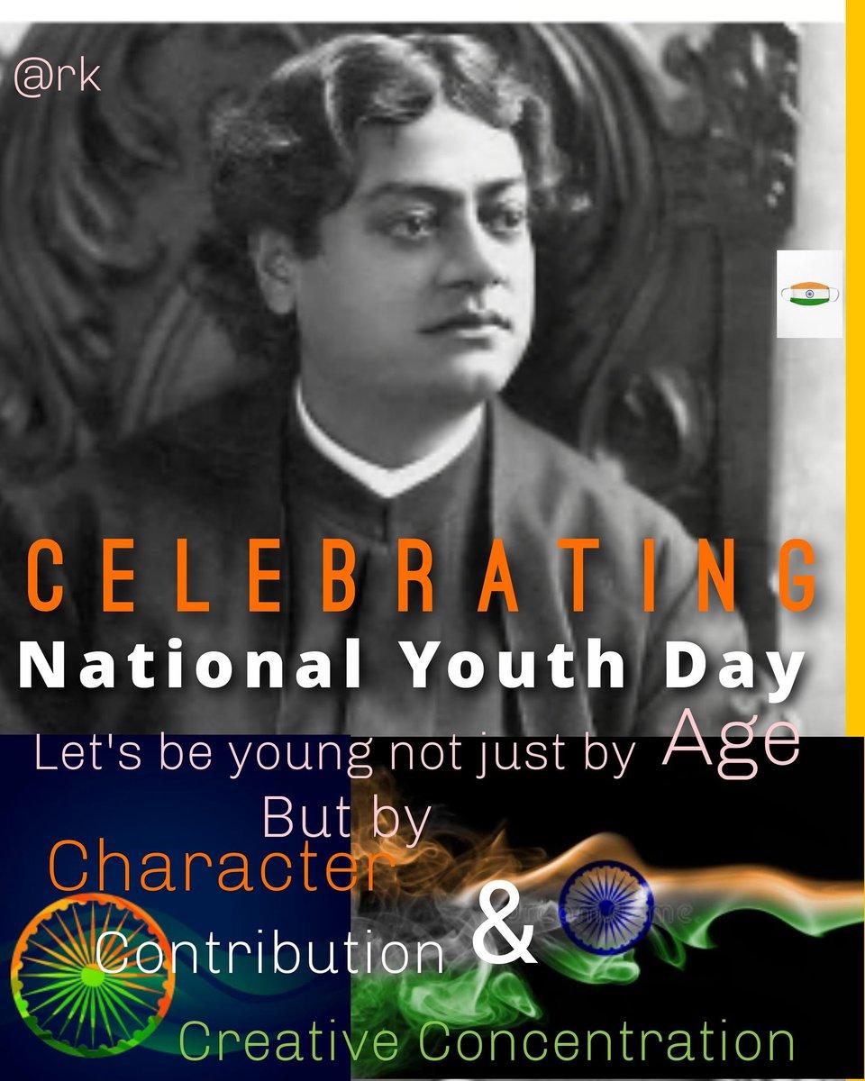 #SwamiVivekanandaJayanti #SwamiVivekanandJayanti #SwamiVivekananda #NationalYouthDay #youth4peace #National
