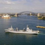 #NUSHIPSupply arrived today in Sydney. Navantia Australia will deliver industry leading asset management, smart sustainment solutions and engineering services for the Supply class AORs & all Navantia designed ships and craft. https://t.co/H3pzWA1ijh #AusNavy #defenceindustry