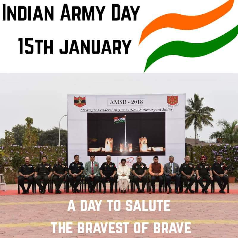 Salute the Armed Forces: Our protectors. #ArmyDay2021  Also a Throw Back. @adgpi