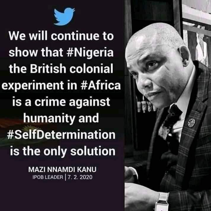 RT @EmekaNw71110140: #BiafraExit #BiafraReferendum #BiafraFreedom #SecureBiafraland https://t.co/bab4lqWBUw
