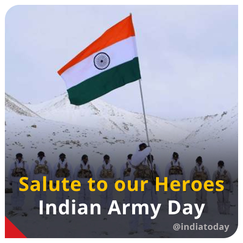 Today in 1948, KM Cariappa took over as the first Commander-in-Chief of the Indian Army (@adgpi), which is commemorated as #ArmyDay. 🇮🇳🇮🇳🇮🇳  RETWEET to pay your tribute to our brave heroes for their valour & sacrifice.