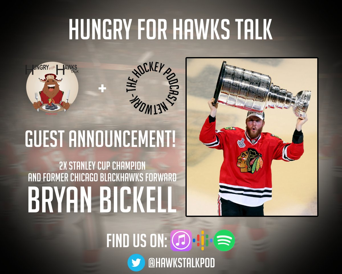 🚨BIG ANNOUNCEMENT!🚨   We got @NHLBlackhawks legend @bbicks29 jumping on the podcast, THIS WEEKEND! Absolutely beyond excited to chat with Bicks! Stay tuuuuuned! 👀👀  #Blackhawks #Chicago #THPN #StanleyCup #NHL #HockeyTwitter