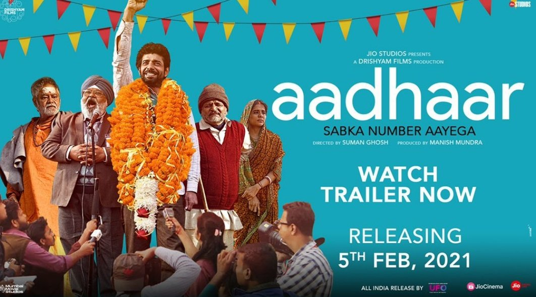 A brilliant concept with the polished cast 🎉🎉 . Watch the trailer now, click on the link below . #Sanjaymishra #aadharcard #india #movement #AkashAbhiraj @imsanjaimishra . You tube link :