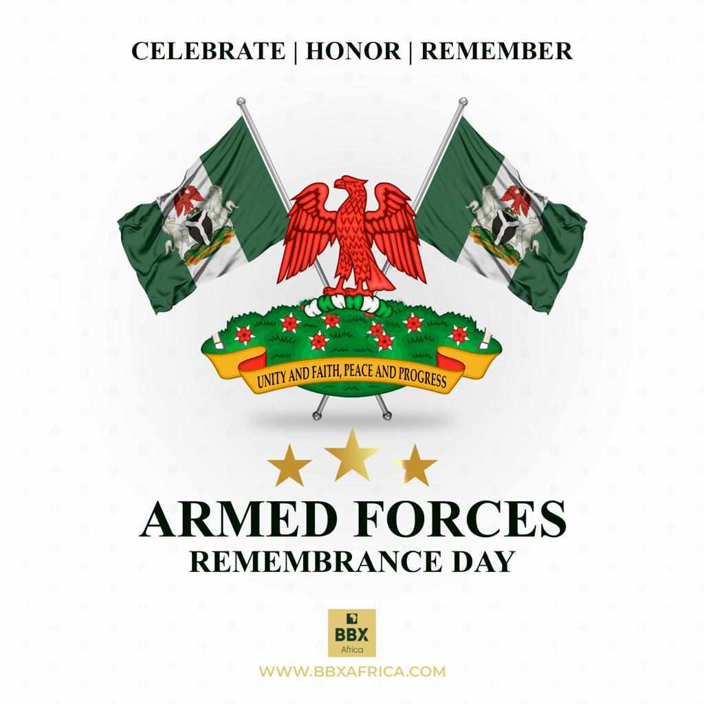 ARMED FORCES REMEMBRANCE DAY: TRIBUTE TO OUR HEROES  Today we remember our fallen heroes,  men and women of the Armed Forces who have paid the supreme price to safeguard our nations peace, security and stability.  #VeteransDay #ArmedForcesRemembranceDay