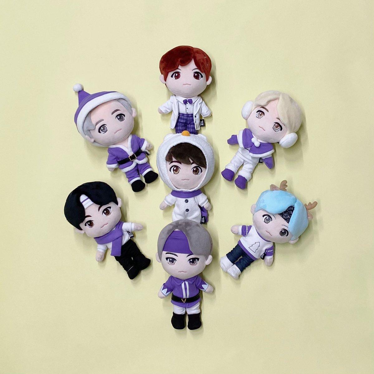 1/16(土)から、TinyTANのWinterシーズン仕様のPlush Toyが、全店舗で発売となります!お楽しみにお待ちください!#BTS_POPUP #SPACE_OF_BTS_JP
