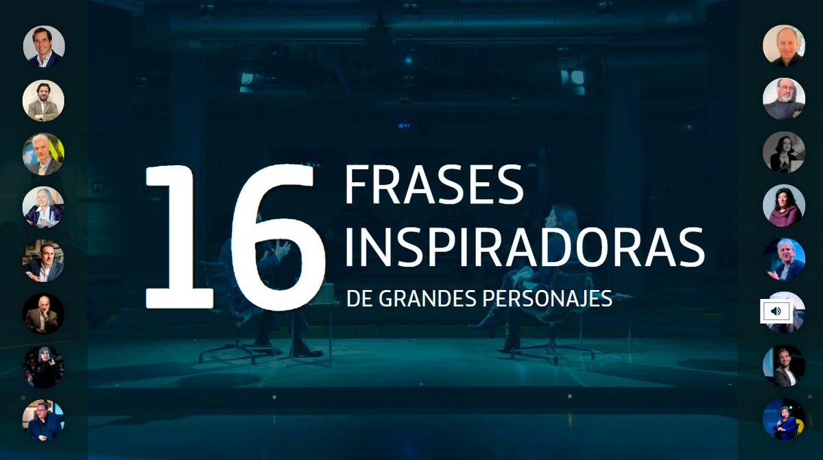 Frases inspiradoras de grandes personajes para afrontar el nuevo año vía @fundacionTef @EsPractica #inspiracion #2021 #Navidad2020 #Top2020Ftef 👉