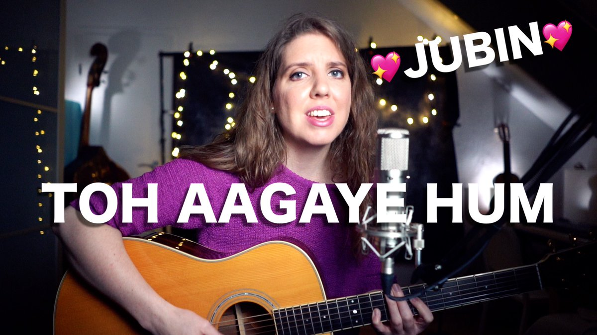 Namasté guys ! Tune in for my #cover of #TohAagayeHum:  ENJOY ! 💞🎵  @JubinNautiyal @Mithoon11 #tseries @TSeries #BhushanKumar @iamsanjeeda @SayeedQuadri2  @ashishpanda