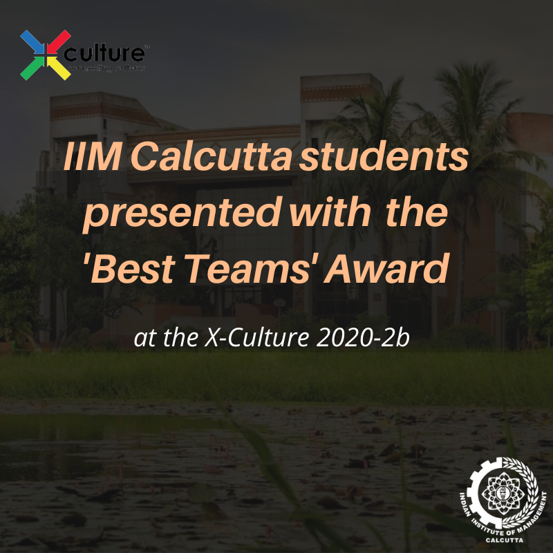We are proud to share that five of our students have been awarded the Best Team Awards, at X-Culture 2020-2b, a large-scale international student collaboration project, and competition. Congratulations to our brilliant students!  Read more: https://t.co/g0nZE7d6F8 https://t.co/Q43tNvIPzk