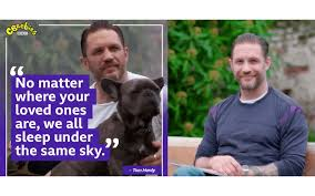 Today's story is all about reaching out to those you love, who are far away. Tom Hardy reads ' Under The Same Sky' bbc.co.uk/.../cbeebies-b…... Tell us how you are keeping in touch with your loved ones. #LibrariesFromHome #ReadySteadyReaders