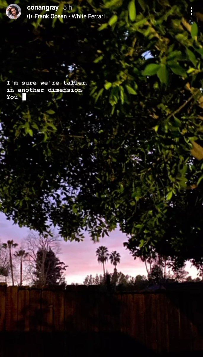 📲| Conan via IG Story.  15.01.21