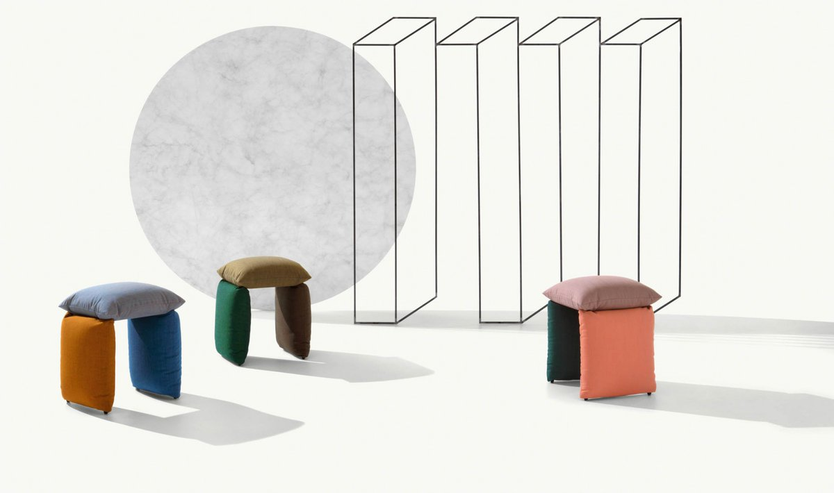 Pillow is much more than a simple pouf that complements a sofa: in fact, its structure enables it to live freely and independently in its space. It is a separate seat that is able to adapt to different interior design and architectural requirements.  https://t.co/rCU9zOEvPm