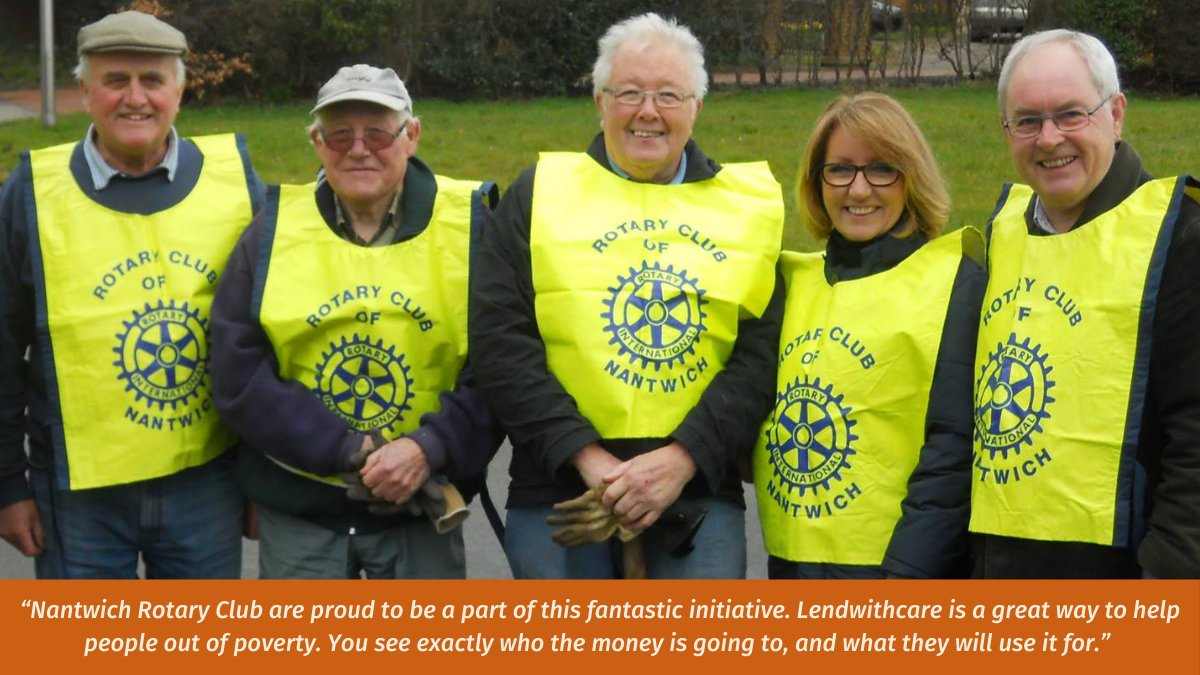Nantwich Rotary Club have lent £60,000 to over 10,000 entrepreneurs by raising funds through metal detecting days, car boot sales, and music events! Were so pleased that @Rotary have now lent over £1 million, and it couldnt happen without incredible clubs like this one!⠀
