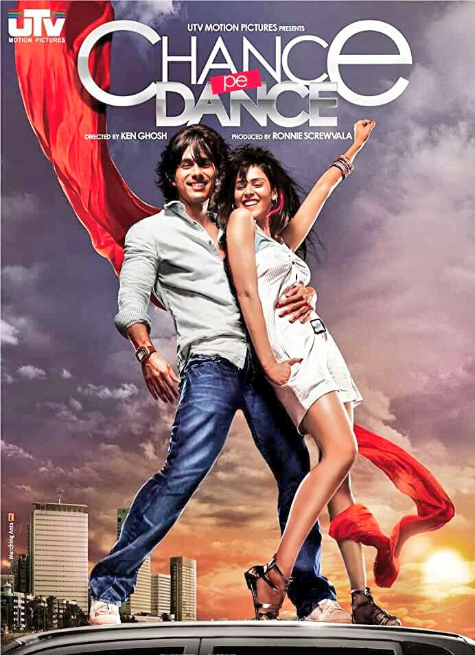 Today We #Shanatics Celebrating  11th Anniversary Of  @shahidkapoor  & @geneliad 's #ChancePeDance Movie 💐🎉🎊😍😘❤💖  #11YearsOfChancePeDance 💖 @kenghosh #ShahidKapoor #GeneliyaDeshmukh  #Shanatic #ShahidKapoorFans