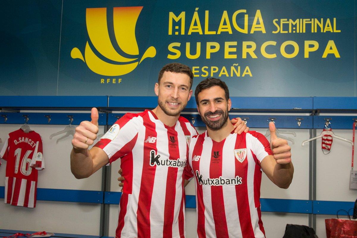 De Marcos & Balenziaga   ❤️ 𝗔𝘁𝗵𝗹𝗲𝘁𝗶𝗰 𝗖𝗹𝘂𝗯 🦁  #BiziAmetsa 💭 #Supercopa 🏆