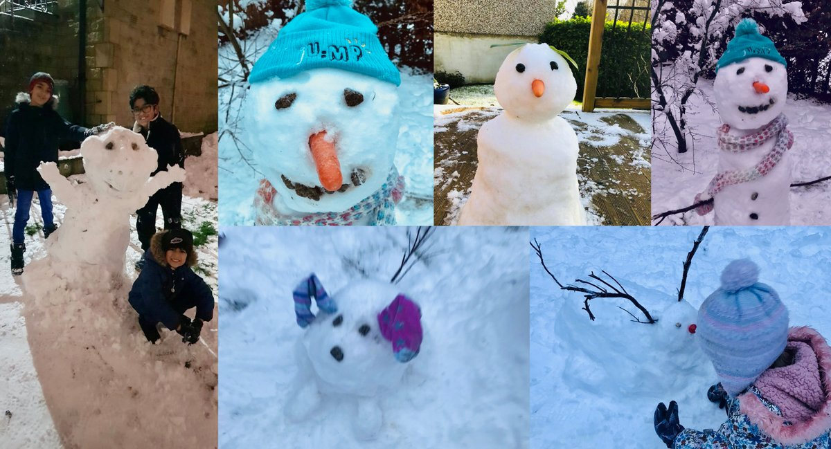 Let it #snow! Our JU:MP team families have certainly not wasted the chance to make the most of this glorious #winter weather because #OutdoorPlayMatters What other tips do people have for playing in the snow?