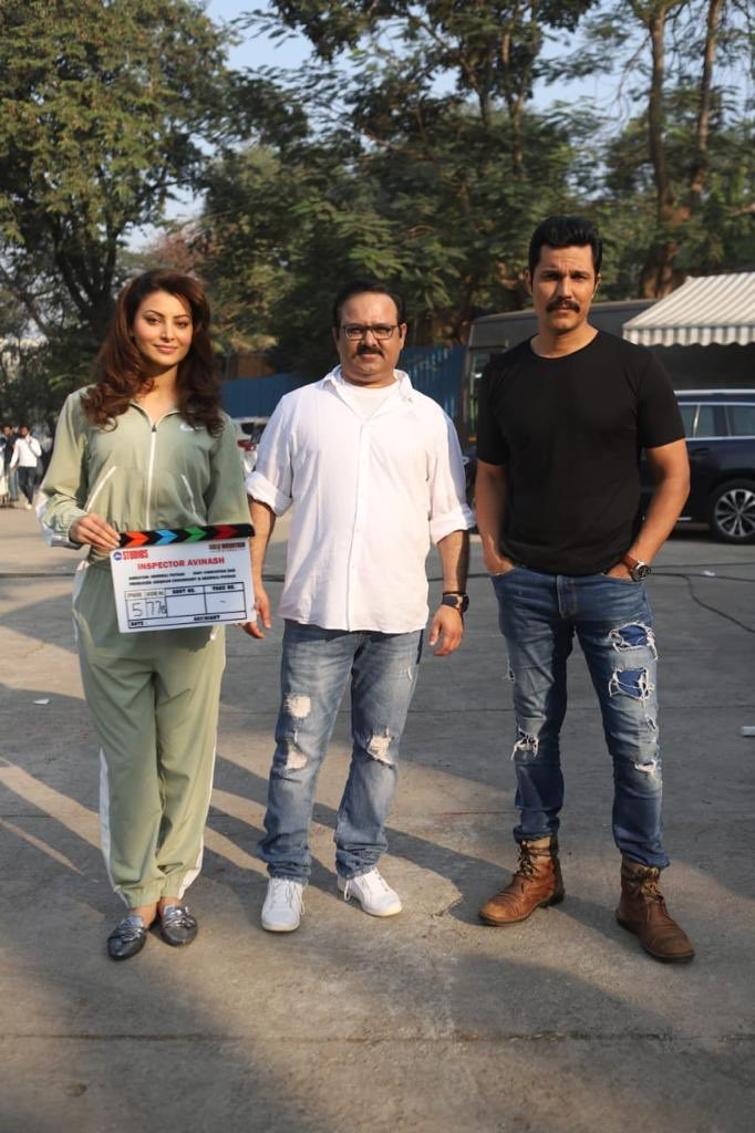 Katte bahut dekh liye, ab sarkari bandook ki garmi dikhayenge! Reporting on duty from today #InspectorAvinash @RandeepHooda with #maheshmanjrekar @UrvashiRautela #RajneeshDuggal @Freddydaruwala #GovindNamdev @priyankabose20 @AdhyayanSsuman @amit_sial #AbhimanyuSingh