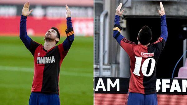 #Messi  Ratifican la amarilla y la multa a Messi por el homenaje a Maradona