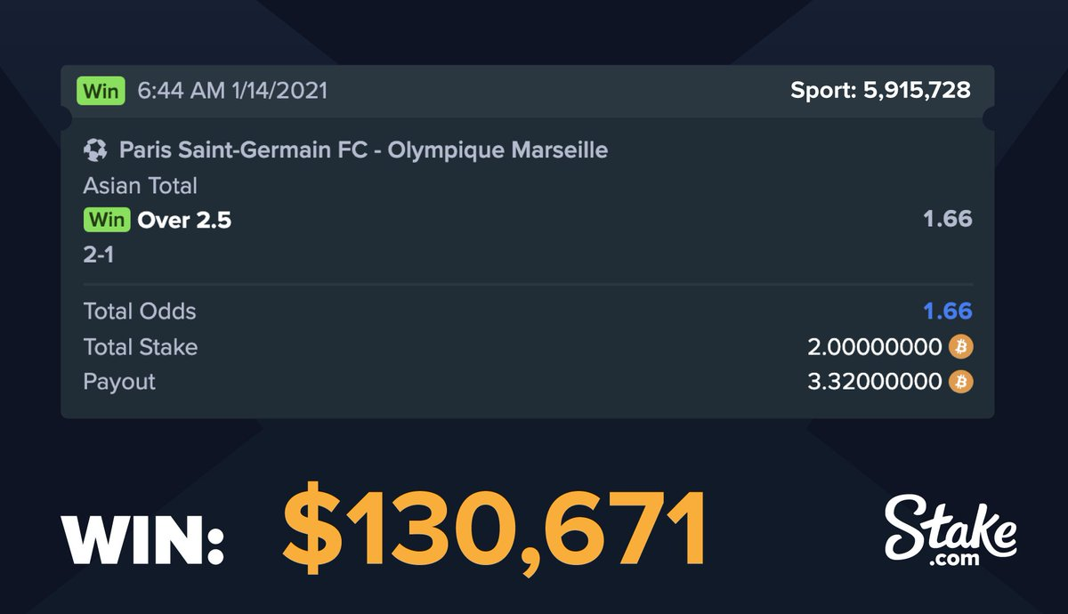 This punter has @dimpayet17 to thank for this bet winning, with an 89th minute goal not being enough to get Marseille into extra time, but enough to get this bet to win!  Give it a retweet and we'll choose one winner after the weekend is done ⚽⚽ https://t.co/0Y6D35CeSt