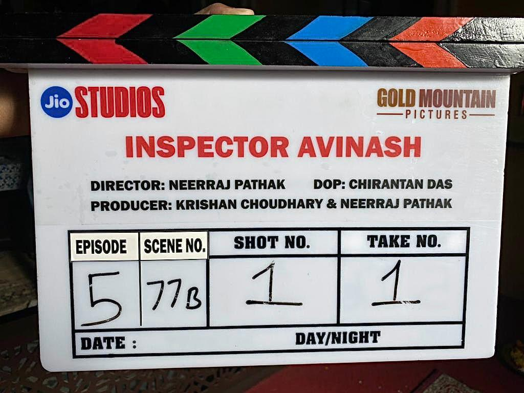 The cast of @jiostudios' web series #InspectorAvinash just got bigger! Dir by #NeerrajPathak, cop thriller goes on floors today.  In association with #GoldMountainPictures, #KrishanChowdhray @neerraj