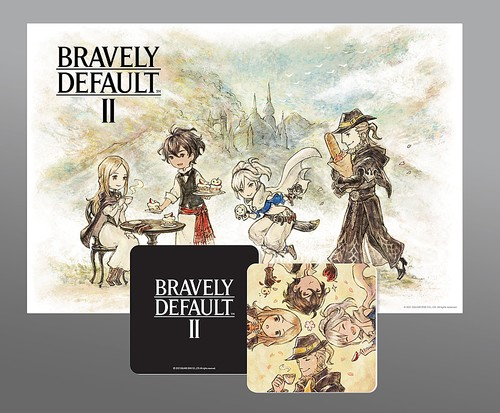 Free Coaster & Placement Map With Purchase of BRAVELY DEFAULT II (S) via Best Buy.