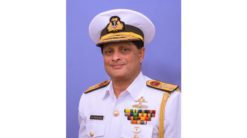 The #President Gotabaya #Rajapaksa and Commander-in- Chief of Armed #Forces appointed Rear Admiral Sumith Ananda Weerasinghe as the Chief of Staff of the #SriLanka #Navy.  Chief of Staff of the Navy appointed  #lka  #lanka  #colombo