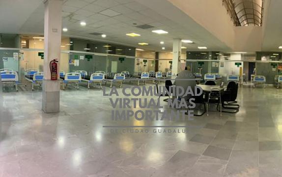 AMPLÍAN NÚMERO DE CAMAS ANTE EL AUMENTO DE CASOS PARA HOSPITALIZACIÓN EN EL H.G.Z NO.6 DEL IMSS El área de consultorios de especialidades ubicada en el sótano ha sido adaptada para la llegada de nuevos pacientes. @CarlosSanchezMX @dreyesmty @rayelizalder @infecto79 https://t.co/Bwv0N2WioL