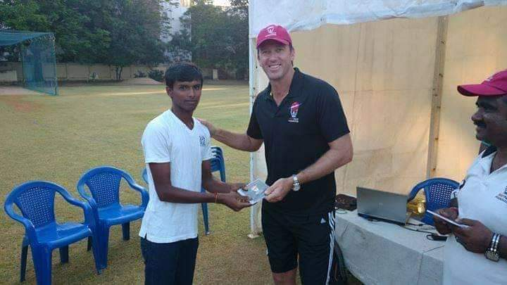 From collecting an award from Glenn McGrath at a young age to debuting for India in all the formats in the same tour and picking up crucial wickets.