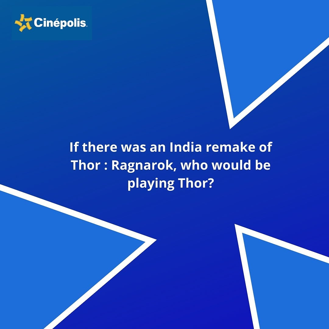 The one who suggests the best fit, earns our respect!  #Cinepolis #CinepolisIndia