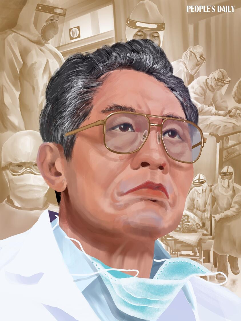 #TopInField: Zhong Nanshan, a renowned Chinese epidemiologist and a recipient of China's highest state honor, led the compiling of #COVID19 diagnosis and treatment plans, and made great contributions to epidemic prevention and control in 2020.