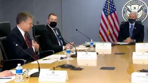 مدير مكتب التحقيقات الفيدرالي: رصد محادثات على الإنترنت عن احتجاجات مسلحة محتملة يوم تنصيب #بايدن  #الجزيرة_أمريكا20