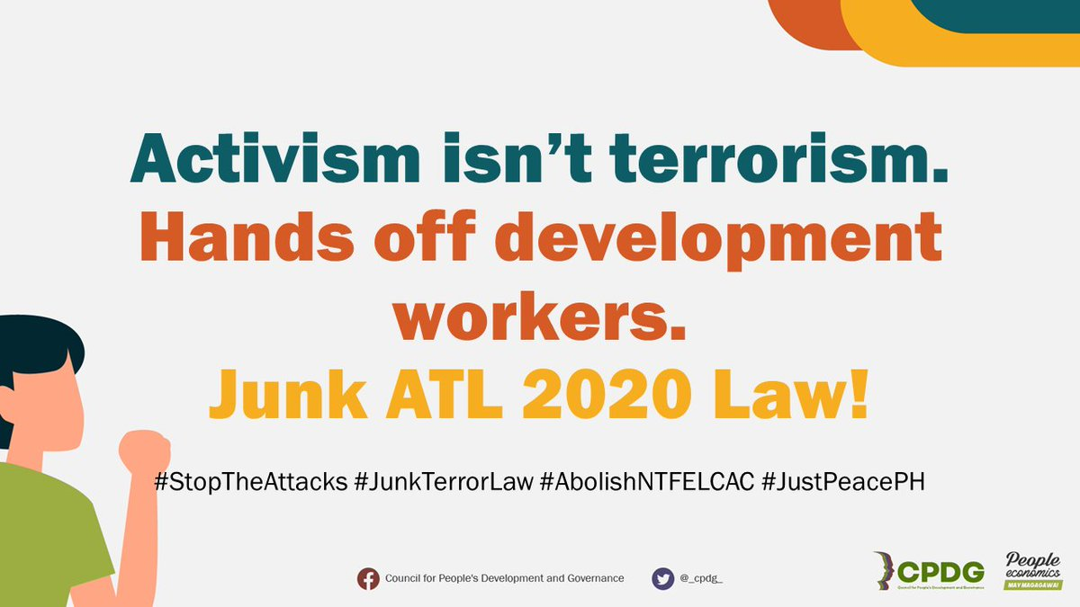 On January 19, 2021 Top brass lawyers will argue for the 37 groups of petitioners representing broad multi-sectoral organizations against the Anti-Terrorism Law of 2020. We urge the Supreme Court of the Philippines to uphold the rights of Filipinos. #JunkTerrorLaw #SCStopATLNow