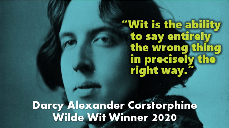 Lovely to see the @OscarWildeUK Wilde Wit competition get a mention in @IrishTimes @IrishTimesBooks today (thanks @MartinDoyleIT):  More details on @OscarWildeUK website here:  @SirDarcy