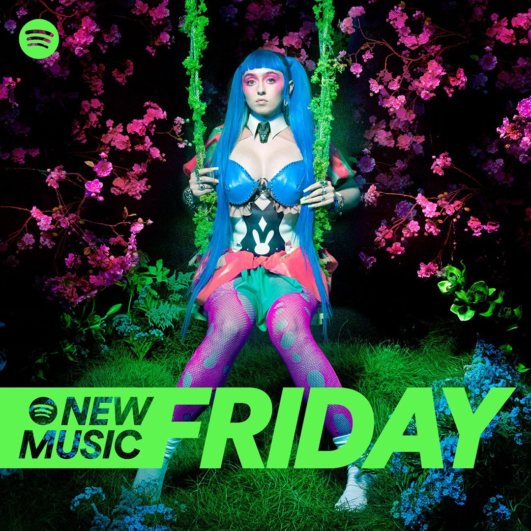 It's New Music Friday, swinging right into your timeline 😈
