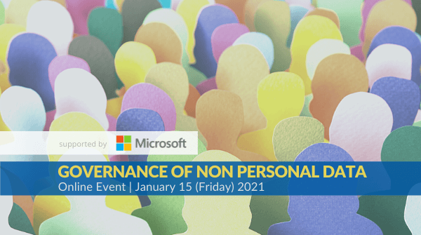 Our session on Governance of Non Personal Data will begin in an hour. Spread across 3 sessions, we'll be discussing how the revised draft framework defines non personal data, enables data sharing, impacts businesses & how the NPD Authority will function. #NAMA #nonpersonaldata