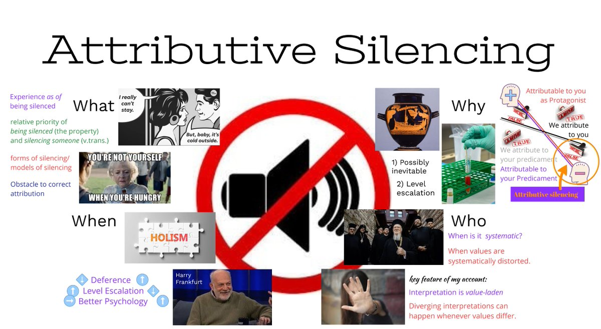 For those who are registered, I'm speaking about Attributive Silencing this afternoon at 4:30pm Eastern at the Arizona Workshop in Normative Ethics. @USCDornsife