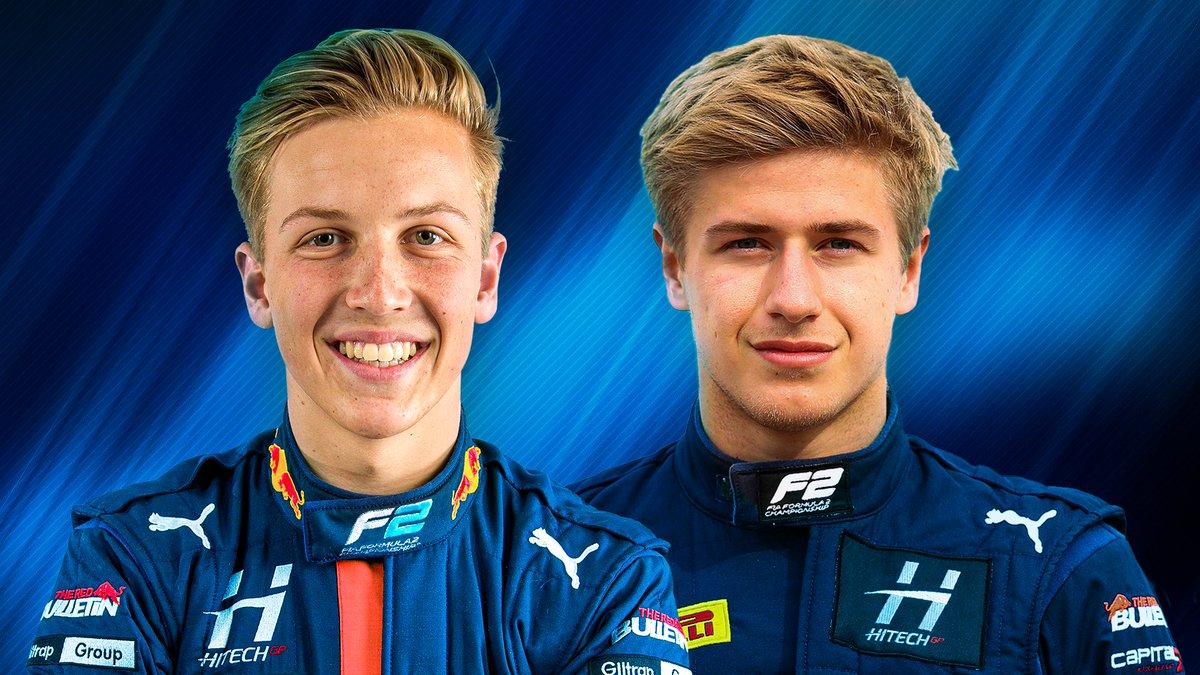 DOUBLE ANNOUNCEMENT! ✌️  Liam Lawson and Juri Vips team up at @HitechGP for the 2021 Formula 2 season 🤜🤛  #F2 #RoadToF1