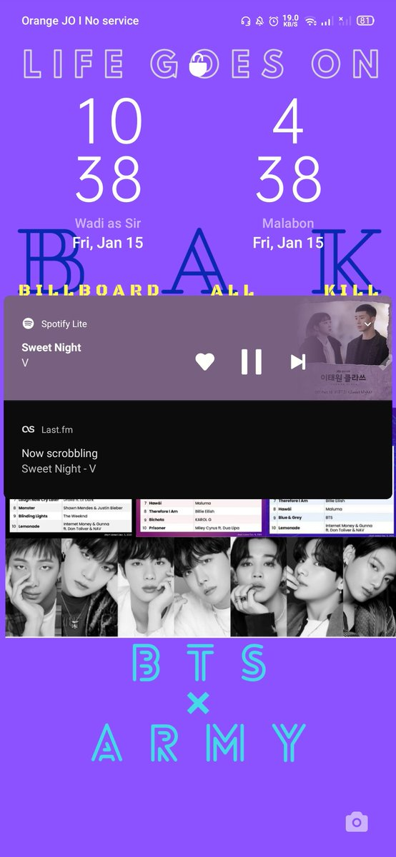 Listening on SPOTIFY with @BTS_twt #ThisIsBTS Playlist.  Now playing 'Sweet Night by #V'  Listen to the playlist here 👇