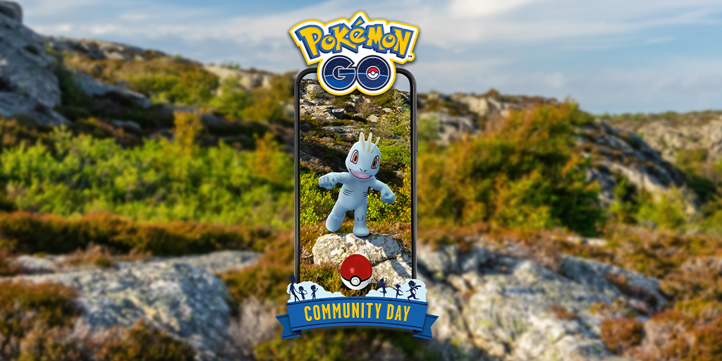 Serebii Update: The Pokémon GO Machop Community Day event is starting to roll out in the Americas. Runs from 11:00 local time to 17:00 local time  Details @