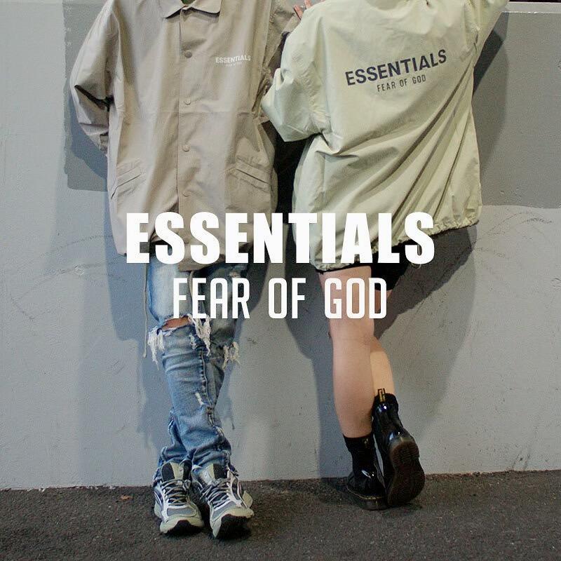 ファッションアイコンとしても名高いFEAR OF GOD のディレクター、 Jerry Lorenzo(ジェリー・ロレンゾ)が手掛けるFOG ESSENTIALSのアイテムが続々と入荷中!!  #FOG #ESSENTIALS #エッセンシャルズ