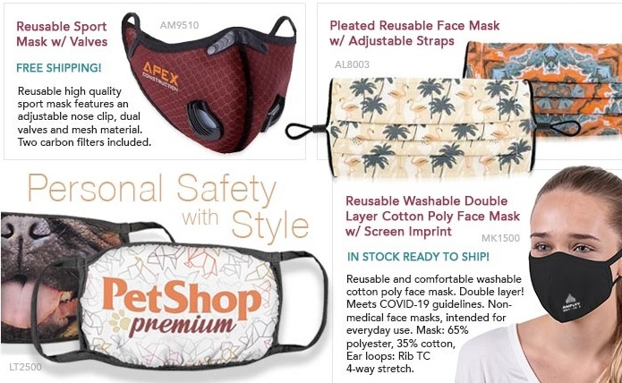 New Face Mask Styles and a New Coupon for Your New Year of Promotions!      #masks #facemasks #instock #stockmasks #custommasks #imprintedmasks #freeshipping #youthmasks  #maskup #onsale #coupon #newyear2021 #newyear #FridayMotivation #SafetyFirst
