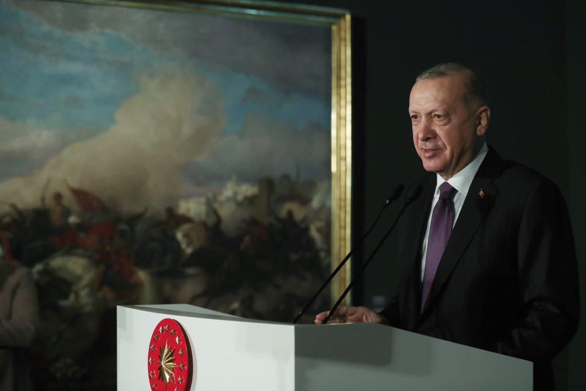 Cumhurbaşkanı @RTErdogan, Millî Saraylar İdaresi Başkanlığı Resim Müzesi Restorasyon Sonrası Açılış Programı'na katıldı