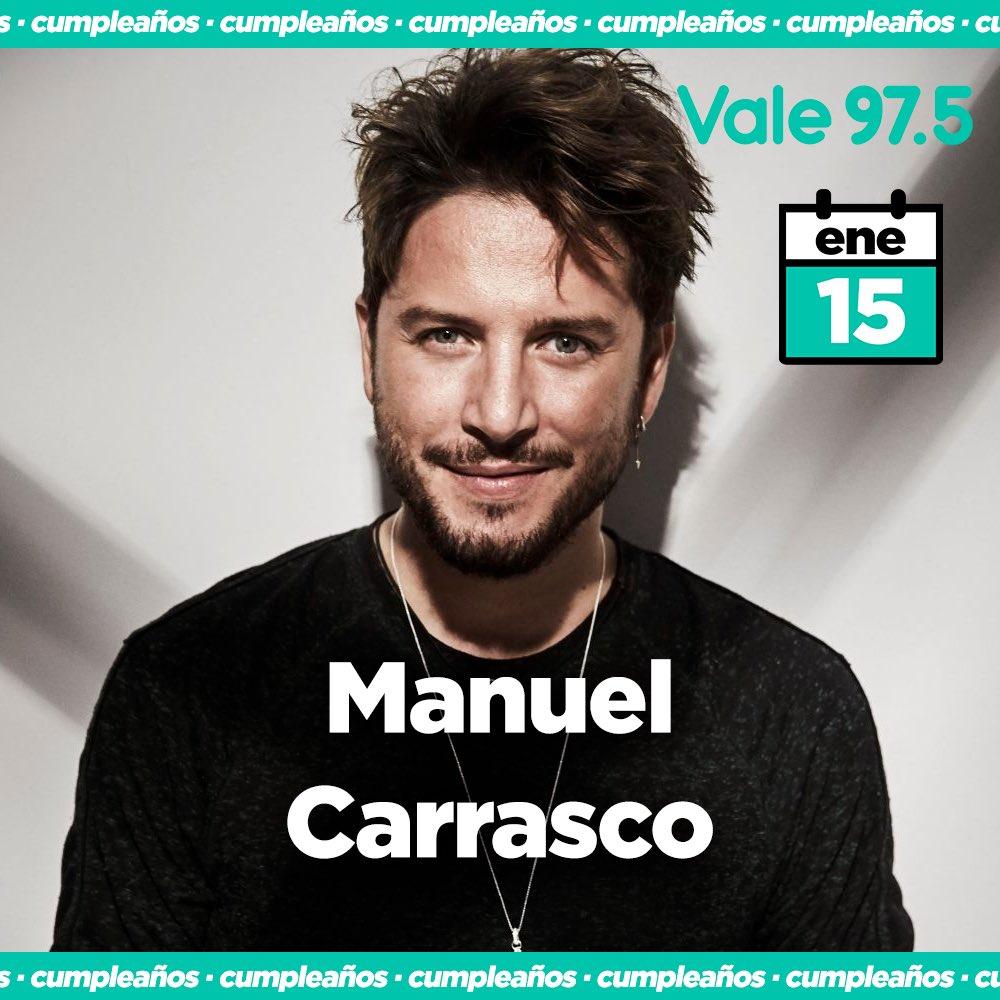 Feliz cumpleaños @manuelcarrasco_! 🎉 Que este 2021 nos encuentre unidos a través de tu música y sigamos compartiendo momentos únicos! Desde Argentina todo nuestro cariño! 🇦🇷🎈🎵