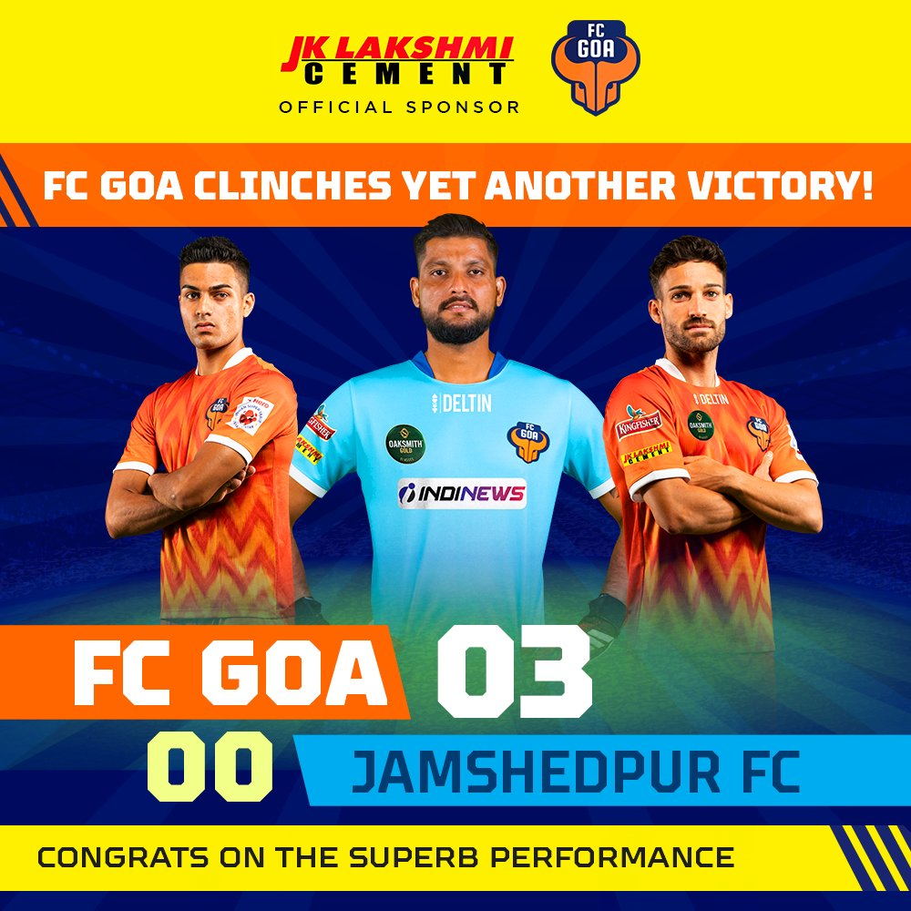 Ortiz and Gonzalez ensure a cracker of a win against Jamshedpur for the Gaurs.  #FCGoa