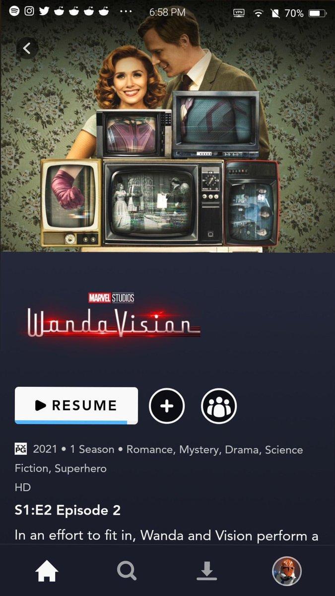 gotta say, #WandaVision has a pretty damn good start!!!