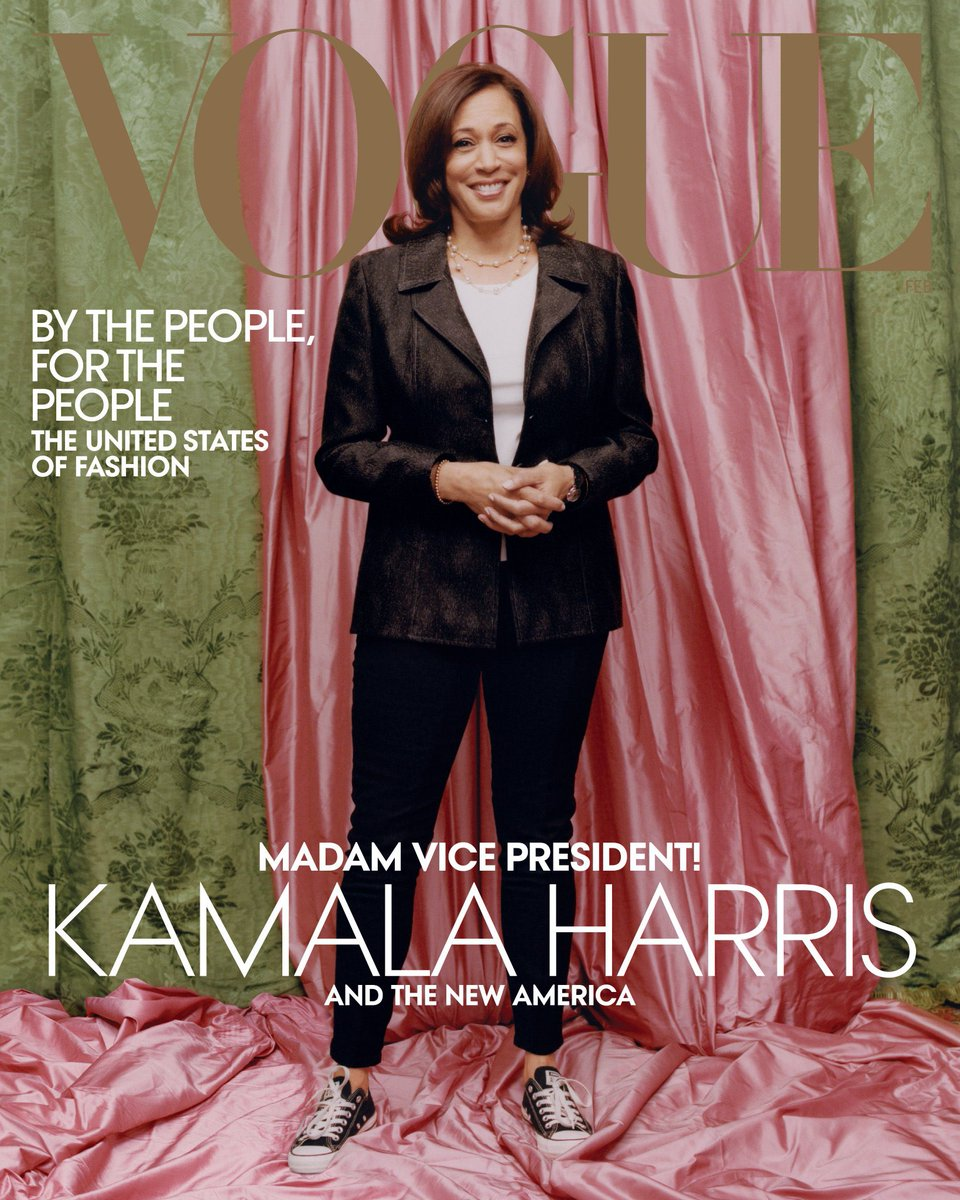 Happy #J15 to my #AKA1908 Sorority Sisters. This is a serious matter! And what a beautiful gift on our 113th birthday to have Soror Madam #VPElectKamalaHarris be just days away from being inaugurated as the nation's first woman VP! Photo @voguemagazine #KamalaHarris #MVPHarris