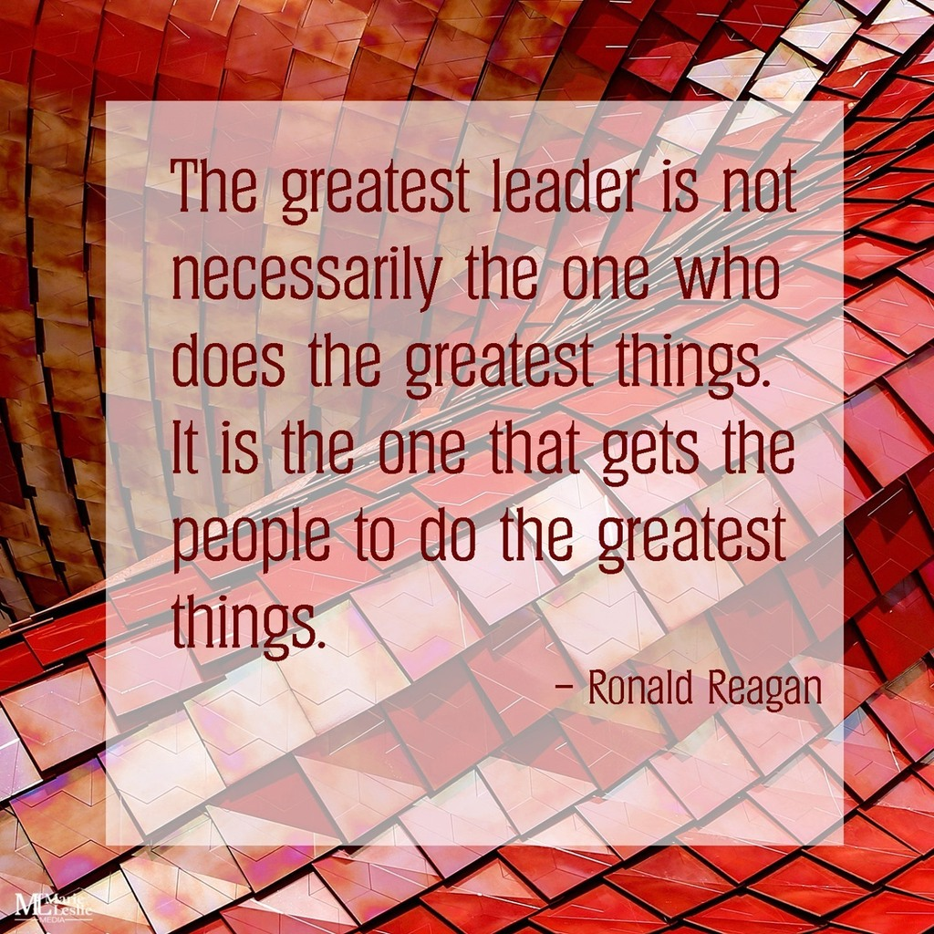 Great leaders motivate and guide people to their highest potential, perhaps even higher than they themselves thought they could ever go. Are you that kind of leader? Are you striving to become that kind of leader?   #fridaymotivation #leadership #greatleaders …
