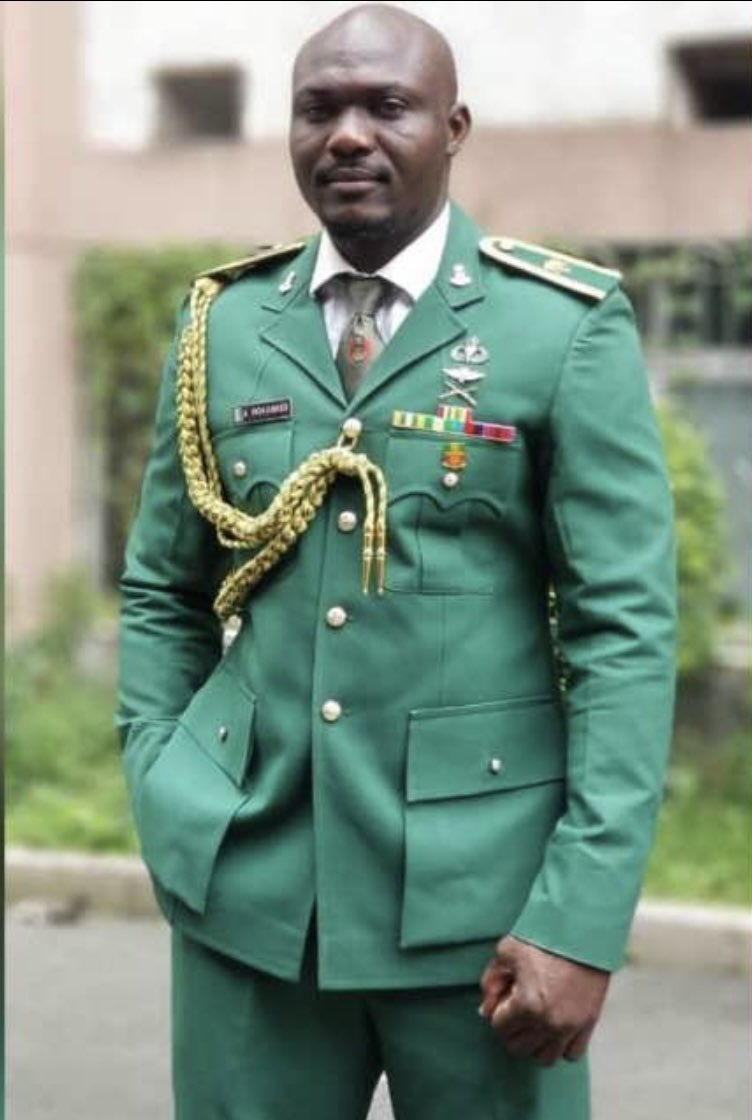 RIP to Major Akeem Mohammed who lost his life to the great fight against Boko Haram in Sept. 2020.  This is also to those who have paid the supreme price to safeguard peace, security and stability.  #VeteransDay #ArmedForcesRemembranceDay2021