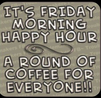 Good morning 😃 Have an amazing day! #FridayFeeling #coffee