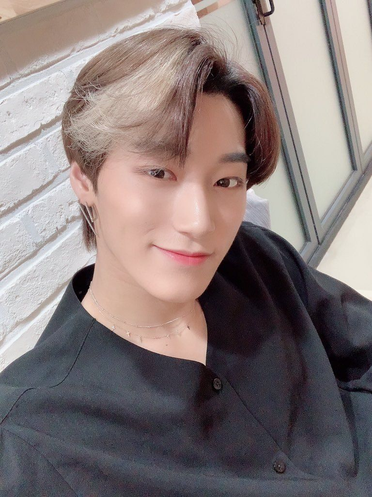"""san twt update on """"200115""""  """"[#SAN] My lovely ATINY❤️ How was your day? Was it hard?❤️ Everything will be ok❤️""""   #ATEEZ #에이티즈 #エイティーズ @ATEEZofficial"""