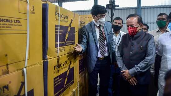 'Beginning of end of #Covid19 pandemic': Health minister @drharshvardhan on vaccination drive
